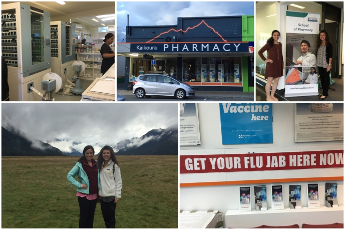 Hannah Donnelly and Kristi Summers spent a month learning about the profession of pharmacy in New Zealand.